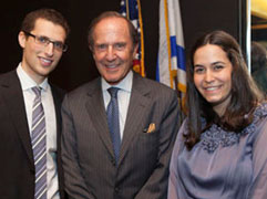 Mort Zuckerman, 2013 awarded  the first Humanitarian Award by the Sy Syms Foundation
